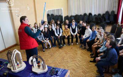В гостях у Кувшиновской школы №2