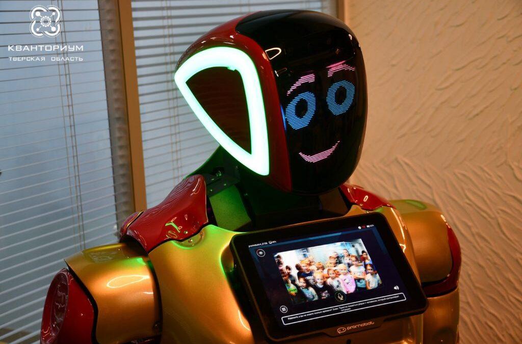 """Экскурсия в Детском технопраке """"Кванториум"""" для детей из """"Family lab"""