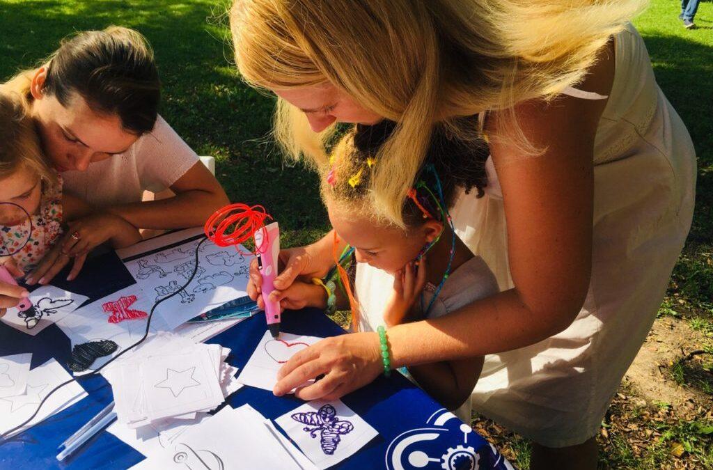 Детский технопарк «Кванториум» на фестивале «Чего хочет Тверь»