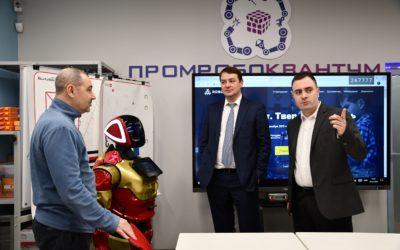 Дмитрий Владимирович Некрасов, с рабочим визитом посетил Тверскую область